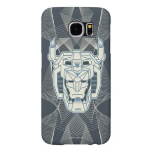 Voltron | Voltron Head Blue and White Outline Samsung Galaxy S6 Case