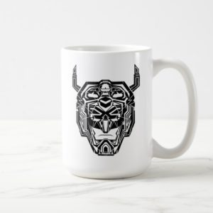 Voltron | Voltron Head Fractured Outline Coffee Mug
