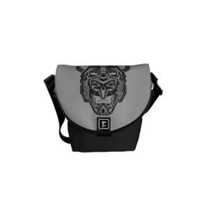 Voltron | Voltron Head Fractured Outline Courier Bag