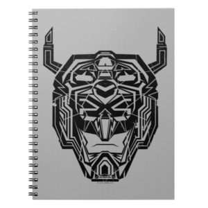 Voltron | Voltron Head Fractured Outline Notebook