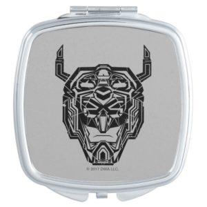 Voltron | Voltron Head Fractured Outline Vanity Mirror