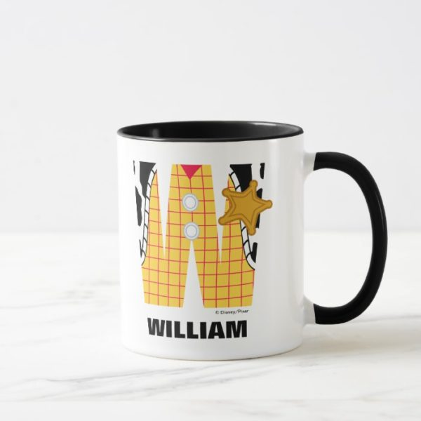 W is for Woody | Add Your Name Mug