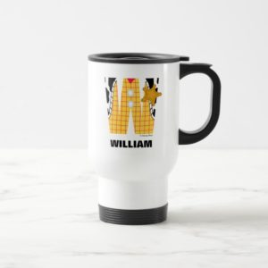 W is for Woody | Add Your Name Travel Mug