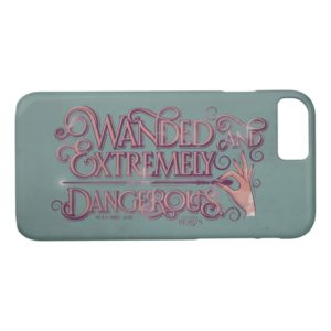 Wanded And Extremely Dangerous Graphic - Pink Case-Mate iPhone Case