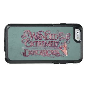 Wanded And Extremely Dangerous Graphic - Pink OtterBox iPhone Case