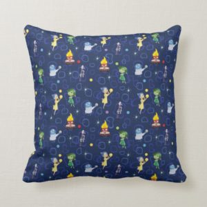 Whimsical Pattern Throw Pillow
