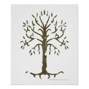 White Tree of Gondor Poster