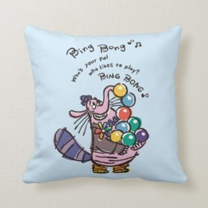 Whose Your Friend Who Likes to Play Throw Pillow