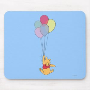 Winnie the Pooh and Balloons Mouse Pad