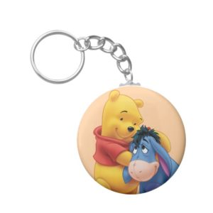 Winnie the Pooh and Eeyore Keychain