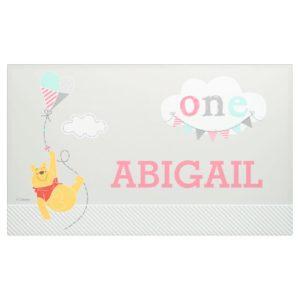 Winnie the Pooh | Baby Girl Kite - First Birthday Banner