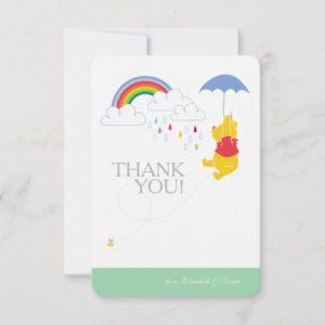 Winnie the Pooh | Boy Baby Shower Thank You