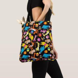 Winnie the Pooh | Bright Friends Pattern Tote Bag