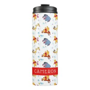 Winnie the Pooh | Hanging with Friends Pattern Thermal Tumbler