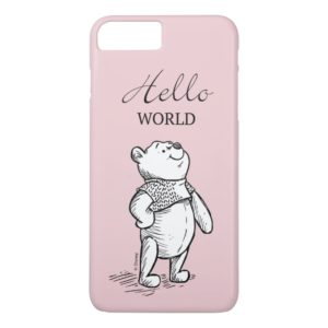 Winnie the Pooh | Hello World Quote Case-Mate iPhone Case