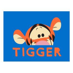 Winnie the Pooh   Peek-a-Boo Tigger Postcard