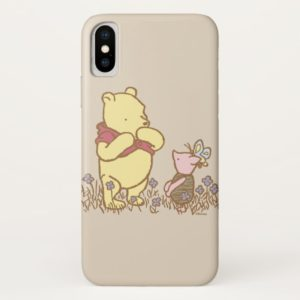 Winnie the Pooh | Pooh and Piglet in Field Classic Case-Mate iPhone Case