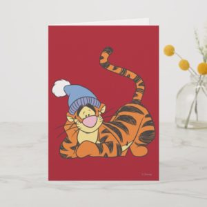 Winnie The Pooh Tigger with hat Card