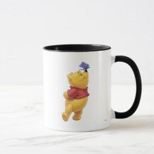 Winnie the Pooh With Butterfly Mug