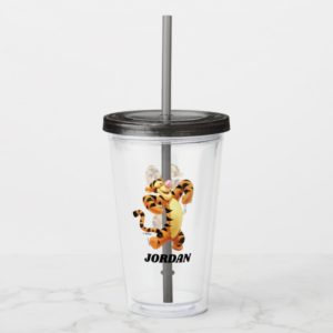 Winnie the Pooh's Tigger - Add Your Name Acrylic Tumbler