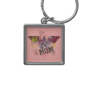 Wonder Mom Mixed Media Keychain