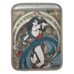 Wonder Woman Art Nouveau Panel iPad Sleeve