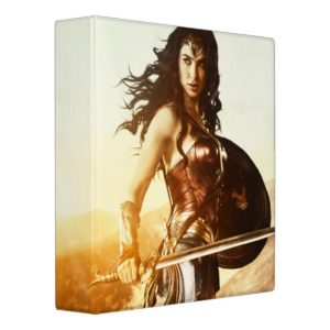 Wonder Woman At Sunset Binder