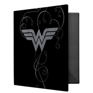 Wonder Woman | Beauty Bliss Logo 3 Ring Binder