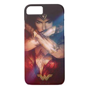 Wonder Woman Blocking With Bracelets Case-Mate iPhone Case