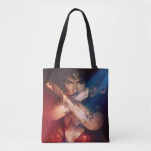 Wonder Woman Blocking With Bracelets Tote Bag