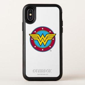 Wonder Woman | Circle & Stars Logo OtterBox iPhone Case