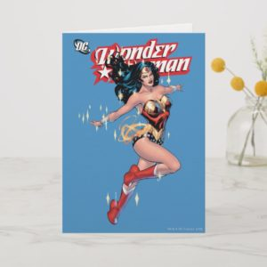 Wonder Woman Comic Cover Card