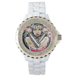 Wonder Woman Defend - Template Wrist Watch