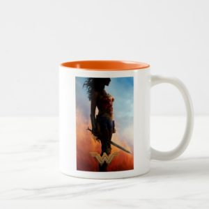 Wonder Woman Duststorm Silhouette Two-Tone Coffee Mug