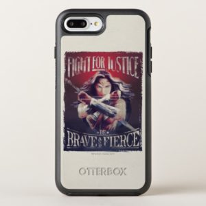 Wonder Woman Fight For Justice OtterBox iPhone Case
