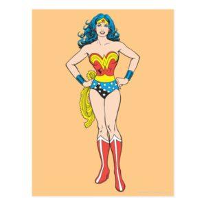 Wonder Woman Hands on Hips Postcard