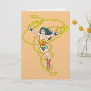 Wonder Woman in Lasso Card