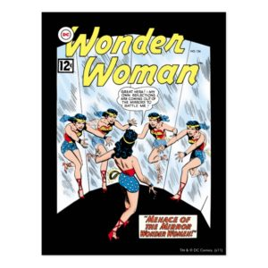 Wonder Woman Mennace of the Mirror Postcard