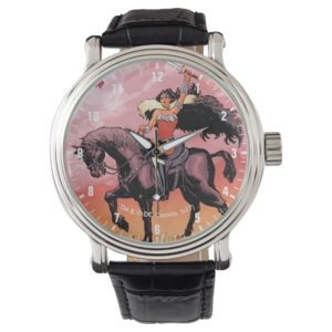 Wonder Woman New 52 Comic Cover #24 Wrist Watch