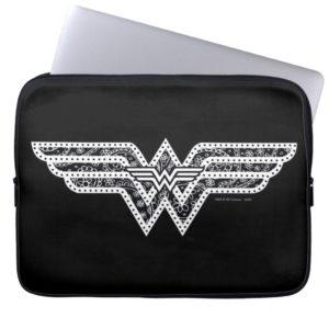 Wonder Woman Paisley Logo Laptop Sleeve