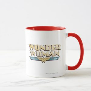 Wonder Woman Pencil Logo Mug