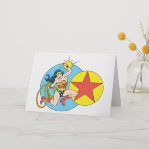 Wonder Woman Red Star Card