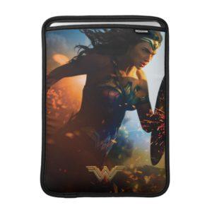 Wonder Woman Running on Battlefield Sleeve For MacBook Air