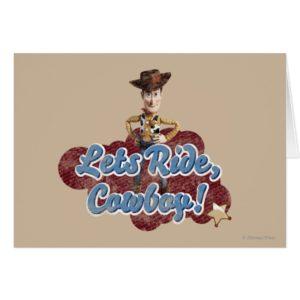Woody: Lets Ride, Cowboy