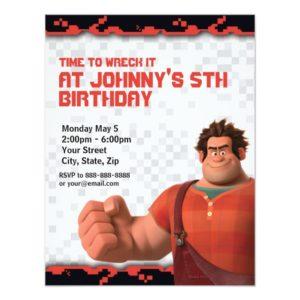 Wreck-It Ralph Birthday Invitation