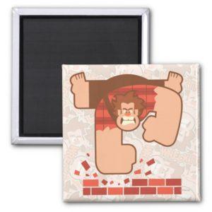 Wreck it Ralph Pounding Bricks Magnet