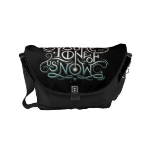 You're One Of Us Now Colorful Graphic Small Messenger Bag