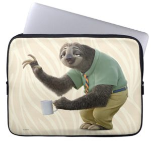 Zootopia | A Working Sloth Computer Sleeve