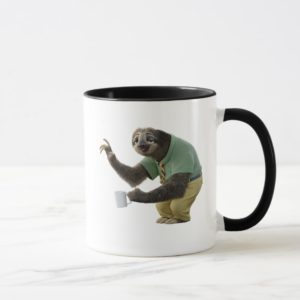 Zootopia   A Working Sloth Mug