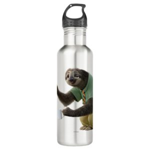 Zootopia   A Working Sloth Stainless Steel Water Bottle